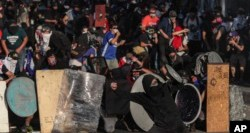 Huelga general y manifestaciones en Chile 1