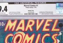 Primer ejemplar Marvel Comics fue subastado en Dallas 7