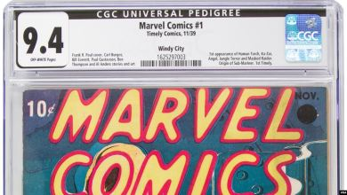 Photo of Primer ejemplar Marvel Comics fue subastado en Dallas