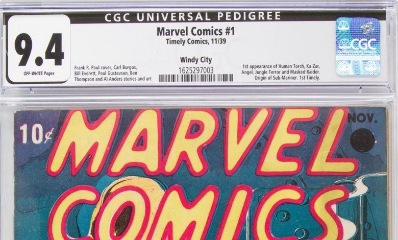 Primer ejemplar Marvel Comics fue subastado en Dallas 3