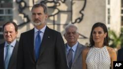 """""""Viva Felipe, viva España"""", cubanos dan bienvenida al rey en aniversario 500 de La Habana 3"""