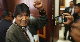 Argentina permitirá a Evo Morales hacer declaraciones políticas 3