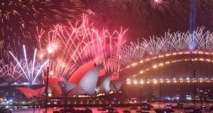 Países del mundo comienzan a dar la bienvenida al 2020 17