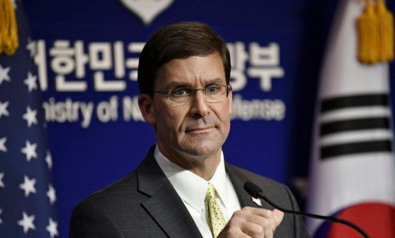 Secretario de Defensa: EE.UU Espers