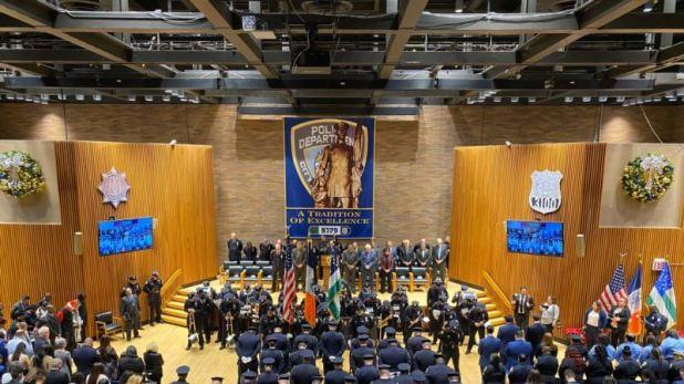 Un dominicano asume como jefe de patrullas de Nueva York 1