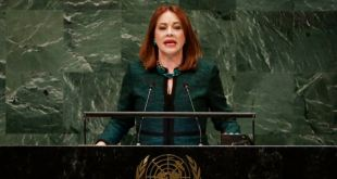 María Fernanda Espinosa, excanciller de Ecuador, busca ser la primera Secretaria General de la OEA 11