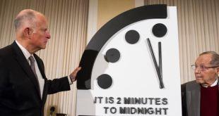 Reloj apocalíptico más cerca que nunca a la medianoche 2