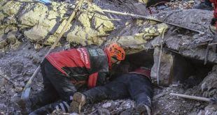 Turquía busca sobrevivientes, confirma 35 muertos en sismo 3
