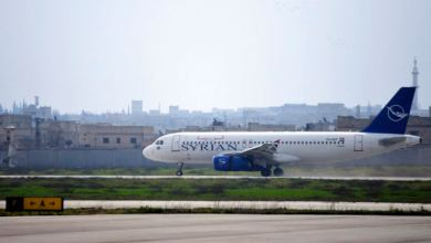 Primer vuelo civil en ocho años aterriza en la ciudad siria de Alepo 7