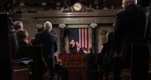 Trump celebra sus políticas migratorias en su discurso del Estado de la Nación 1