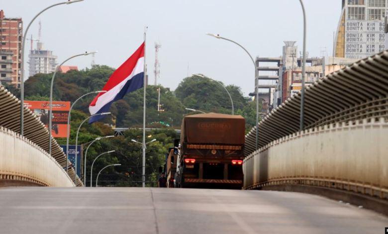 Paraguay cierra fronteras por el COVID19
