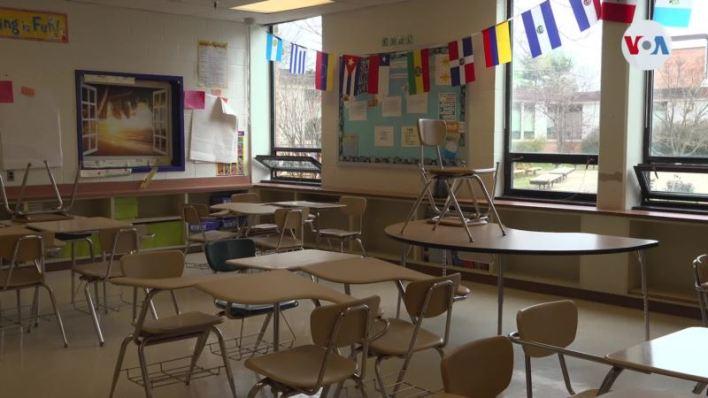 Escuelas vacías y niños en casa: El panorama educativo en EE.UU. 1