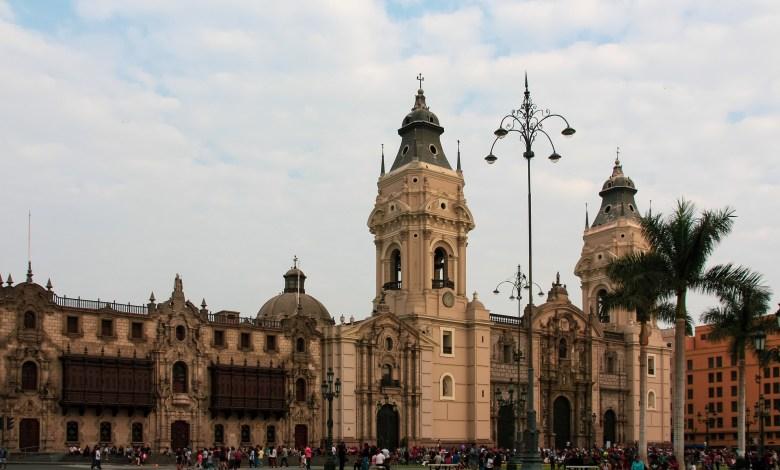 Centro histórico de Lima, la capital de Perú