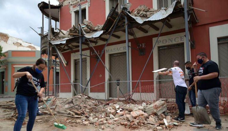 Sismo sacude el sur de Puerto Rico y deja algunos daños 1