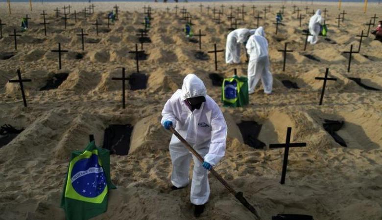 Brasil cede ante el coronavirus y ya registra más de un millón de contagiados 1
