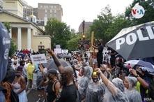 Cómo se vivió el Juneteenth en Washington D.C., la celebración de, conmemoración de la liberación de las personas que estaba esclavizadas en EE.UU. [Foto Alejandra Arredondo/VOA]