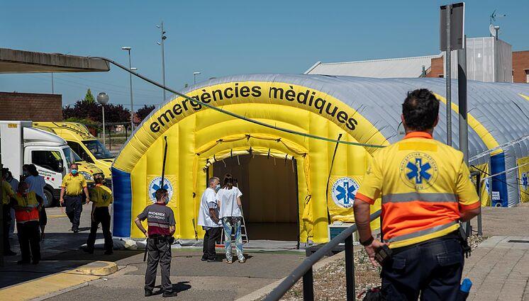 España en alerta por nuevo brote de coronavirus en Lérida 1