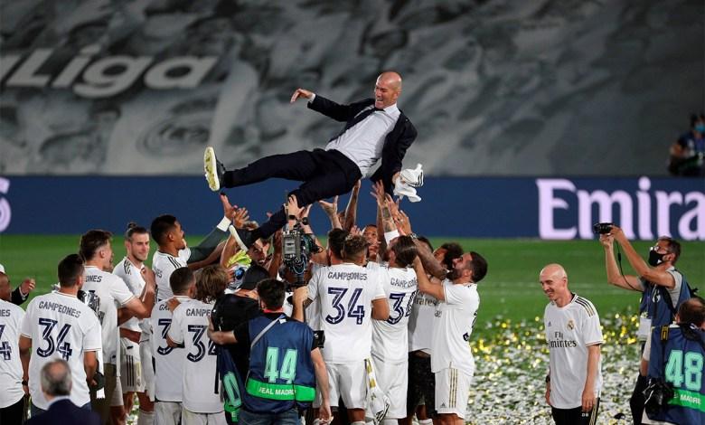Real Madrid venció 2-1 al Villarreal y se coronó campeón de la liga española 1