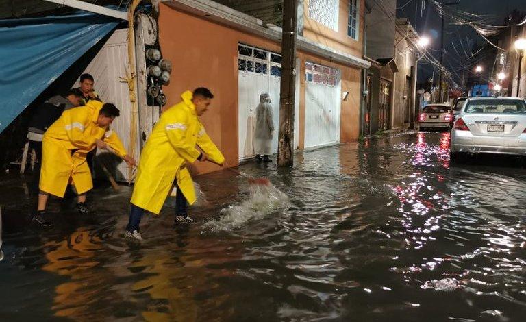Intensas lluvias en la Ciudad de México generan graves inundaciones 1