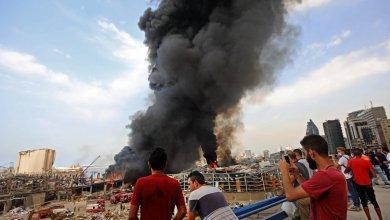 Líbano: Investigan nuevo incendio en puerto de Beirut a un mes de la explosión 4