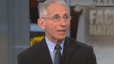 "Dr. Fauci aparece en el programa ""Face the Nation"" de NBC"