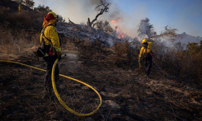 Los Ángeles: Incendio forestal afecta más de 3,000 hectáreas y obliga a evacuación masiva 1