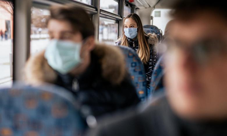CDC: Uso de mascarilla en transporte público será obligatorio desde el lunes 1