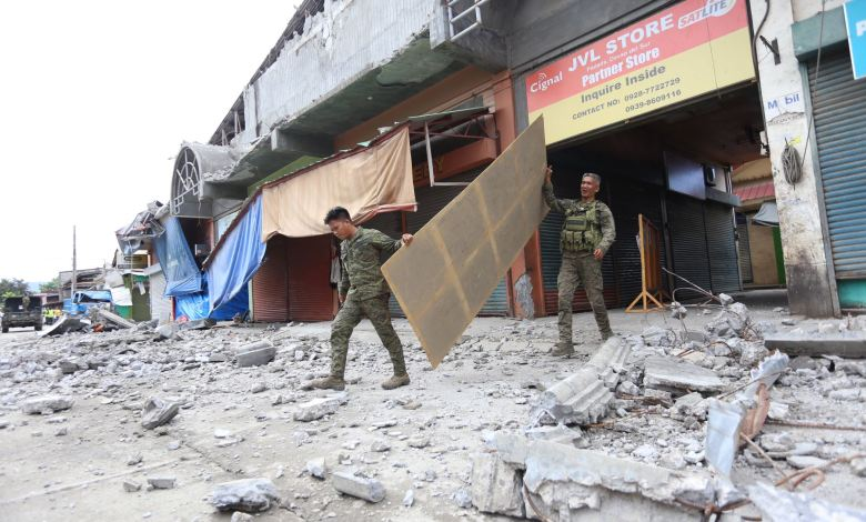 Terremoto de 7 grados sacude el sur de Filipinas 1