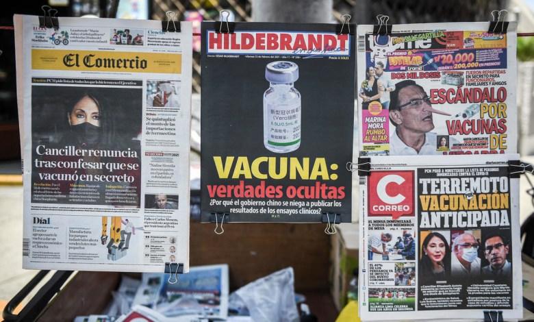 """""""Vacunagate"""": Cerca de 500 funcionarios peruanos fueron vacunados en secreto 1"""