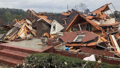 Cinco fallecidos dejó el paso de un tornado en Alabama 5