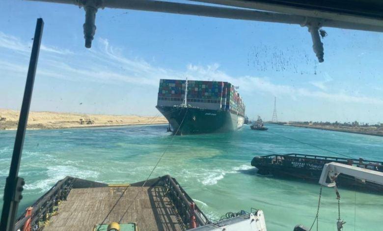 Liberan por completo el Canal de Suez tras reflotar gigantesco buque Ever Given 1