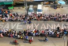 Protestas en Myanmar continúan pese a severa represión policial 2