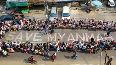 Protestas en Myanmar continúan pese a severa represión policial 10