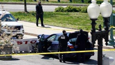 Atacante atropella a dos policías y mata a uno de ellos cerca al Capitolio 4