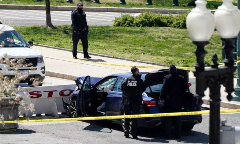 Atacante atropella a dos policías y mata a uno de ellos cerca al Capitolio 1