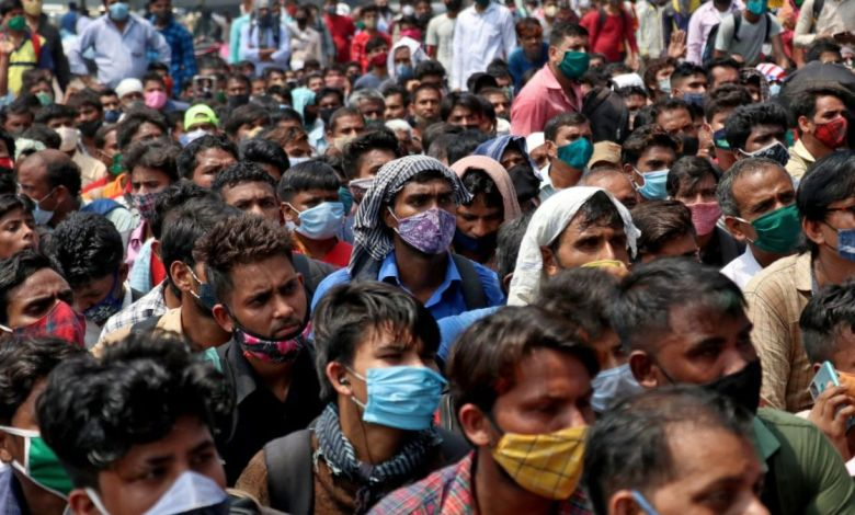 Colapso sanitario en la India estaría motivado por una variante de covid más letal 7