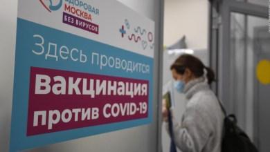 Rusia espera lograr inmunidad de rebaño en setiembre 8