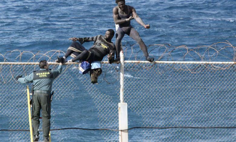 Más de 5,000 migrantes marroquíes ingresaron a territorio español en solo un día 1