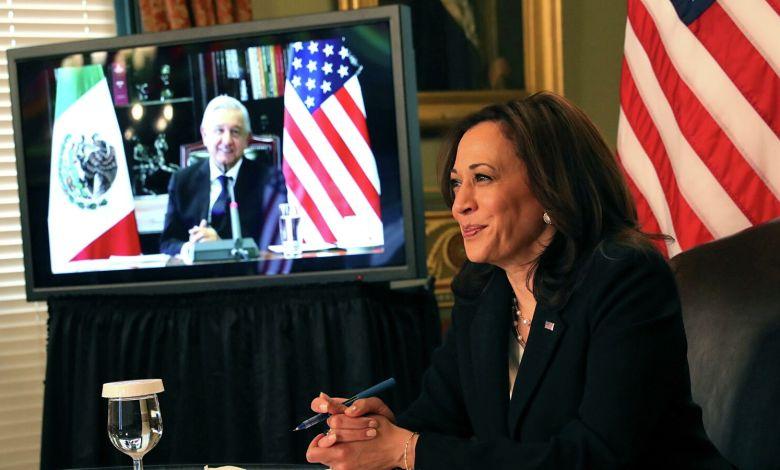 Presidente de México pide a Kamala Harris nuevo préstamo de vacunas AstraZeneca 1