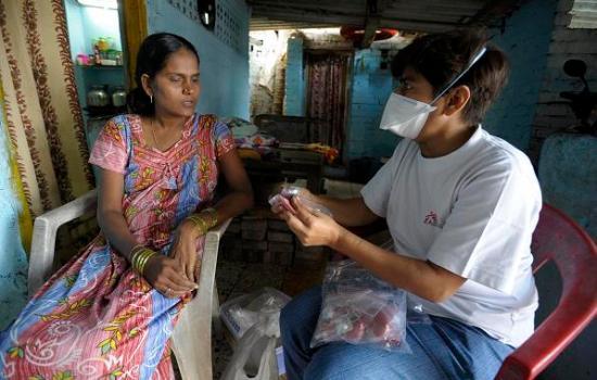 HIV - Anti-retroviral treatment Mumbai India