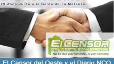 Photo of Diario NCO y El Censor del Oeste juntos para informar en La Matanza