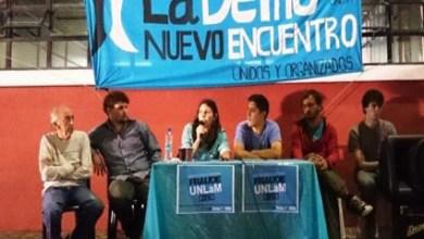 Photo of San Justo:Repudio por la proscripción de listas opositoras en la UNLaM