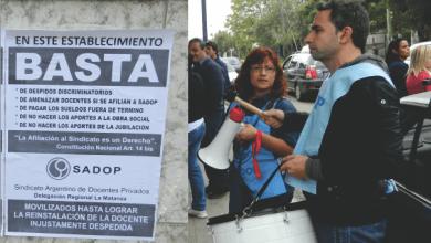 Photo of SADOP denuncia al colegio IMNA por fraude, discriminación y práctica antisindical
