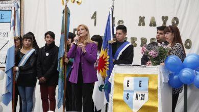 Photo of Visita Oficial: Verónica Magario Recorrió Escuelas Del Distrito