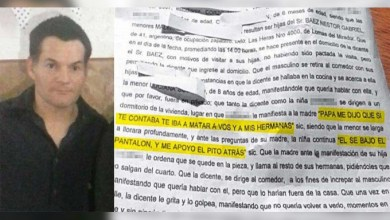 Photo of Horror en Lomas del Mirador:Nena de 8 años era abusada por su padrastro