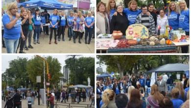 Photo of Autismo:La Plaza San Justo se vistió de azul