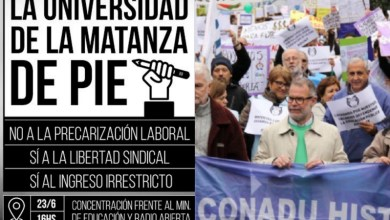 Photo of Plan de lucha:Jornada de protesta de los docentes universitarios