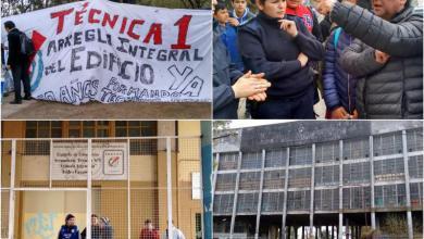 Photo of Casanova: La escuela Leopoldo Marechal reforzó su reclamo por obras y seguridad