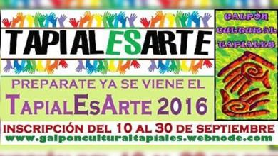 Photo of Inscripción para artistas que quieran presentarse en el TapialEsArte 2016
