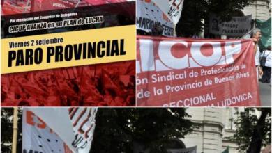Photo of Medida de fuerza: Nuevo paro de los Profesionales de la Salud